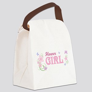 Flower Girl [f/b] Canvas Lunch Bag